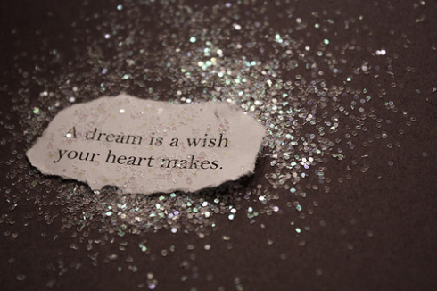 A dream is wish your heart makes