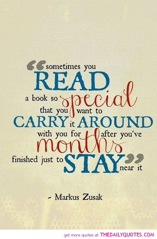 Reading is Special