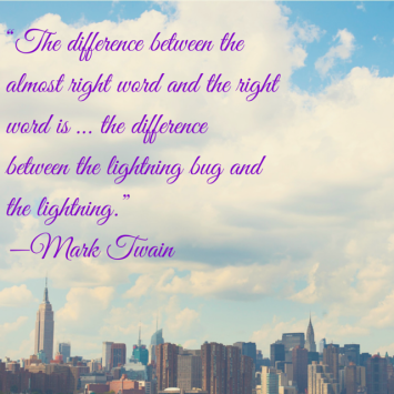 """The difference between the almost right"