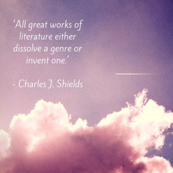 'All great works of literature either dissolve